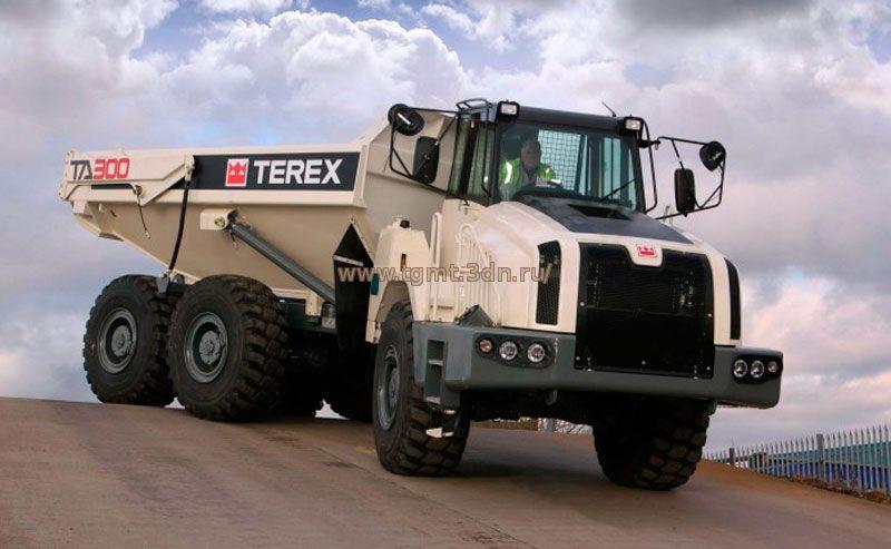 Terex с двигателями Cummins QSB4.5, QSB6.7, QSM11
