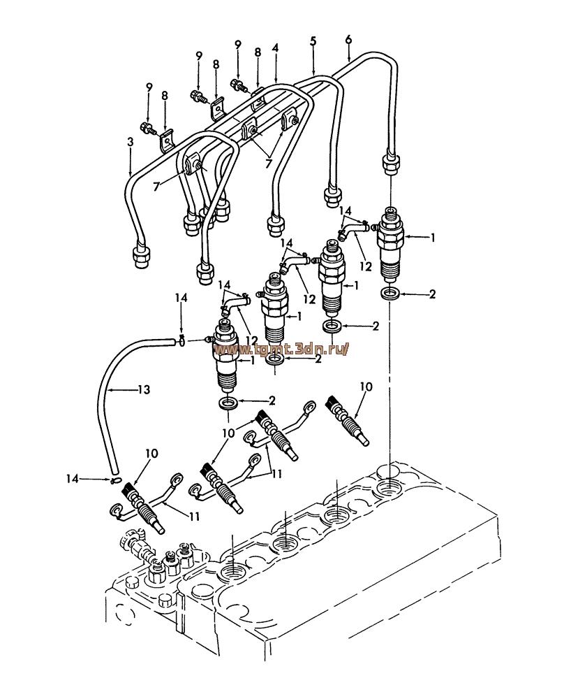 Запчасти топливной аппаратуры